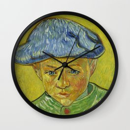 "Vincent van Gogh ""Portrait of Camille Roulin"" Wall Clock"