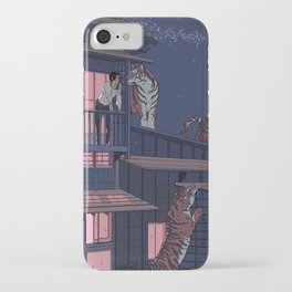 Tiger Playhouse iPhone Case