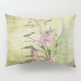 Decorative Green Floral Pillow Sham