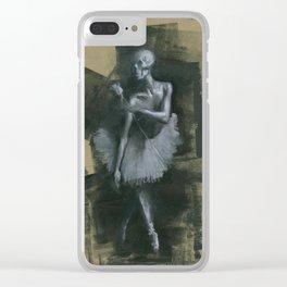 The Dark Dancer Clear iPhone Case