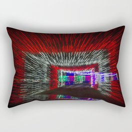 Tunneled Light Rectangular Pillow