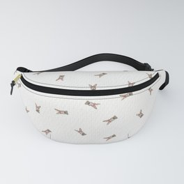 Baby Rabbit with Flower Crown Fanny Pack