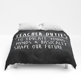 Teacher Duties Comforters