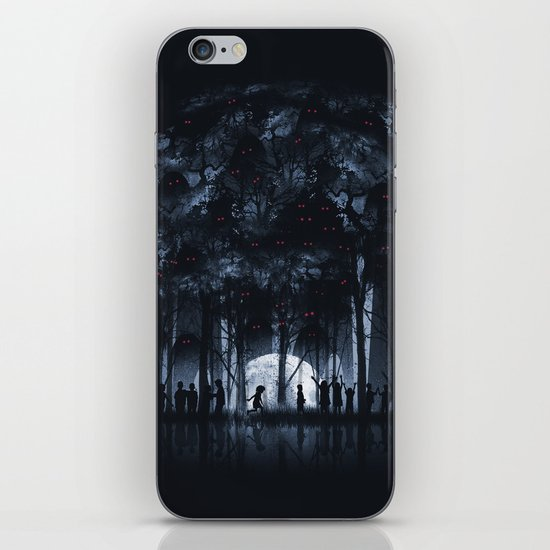 Creatures Rule the Night iPhone & iPod Skin