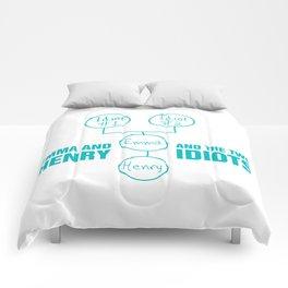 Regina Sassy Mills | The two idiots Comforters