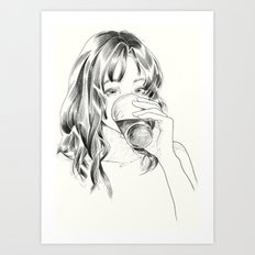 Alcohol Art Print