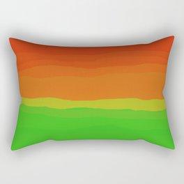 Candy Watermelon Abstract Rectangular Pillow