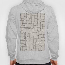Stone Wall Drawing #3 Hoody