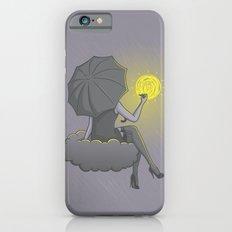 Drawin' in the rain iPhone 6s Slim Case