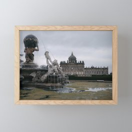 Classic fountain of Castle Howard Framed Mini Art Print