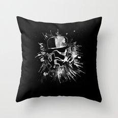 Storm Trooper (black) - Star Wars Throw Pillow