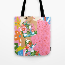 Living in Chaos Tote Bag