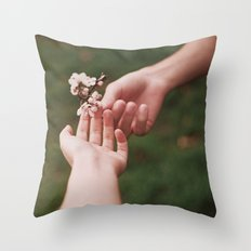 Our spring II Throw Pillow