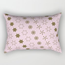 Asterisk-a-thon Pink Rectangular Pillow
