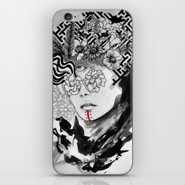 Seeing without sight iPhone Skin