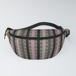 Openwork stripes 2 Fanny Pack