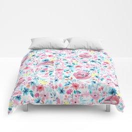 Fox in the Garden Comforters