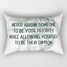 Be your priority - Mark Twain Collection Rectangular Pillow