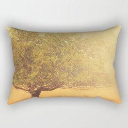 Tree Photograph. Solitude Rectangular Pillow