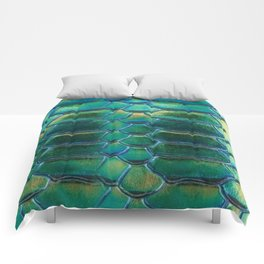 Aqua Scales Comforters