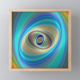 Hypnotic eye Framed Mini Art Print