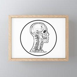 cervical Framed Mini Art Print