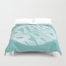 Stay Rad (Turquoise) Duvet Cover