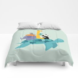 Travel Together Comforters