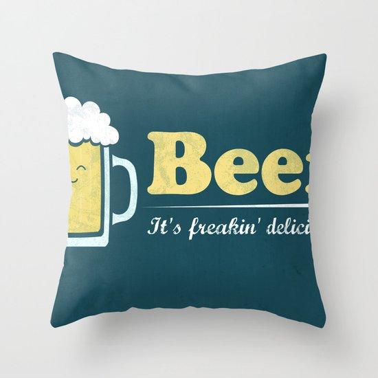 Obvious Slogan #3 Throw Pillow