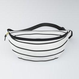 Minimalist Stripes Fanny Pack