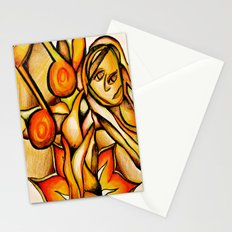 Flower- Reflect  Stationery Cards