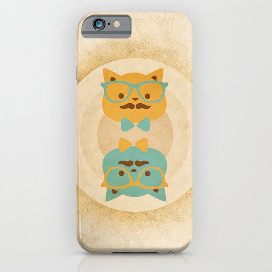 Vintage cats iPhone & iPod Case