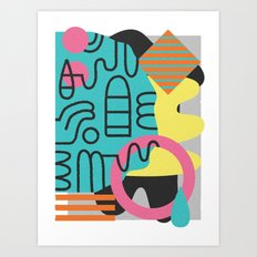 Lallibela Art Print