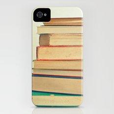 Stack of Books Slim Case iPhone (4, 4s)