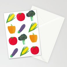 Veggies! Stationery Cards