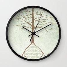 Jeremiah 17:7&8 Wall Clock
