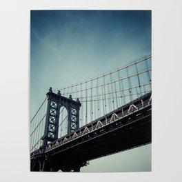 Moody Manhattan Poster