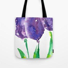 flower X Tote Bag