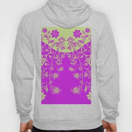 floral ornaments pattern rgip120 Hoody