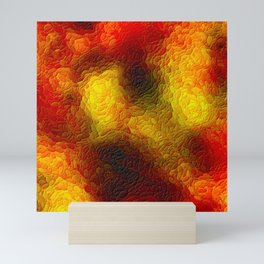 The sky behind the glass 3 Mini Art Print