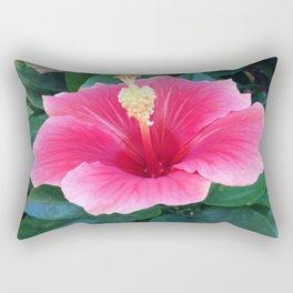 The Hibiscus Among Us Rectangular Pillow