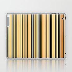 High Society Vintage Rustic Glam Stripes 001 Laptop & iPad Skin
