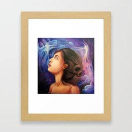 Dead in your head Framed Art Print