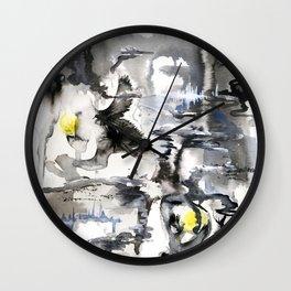 Rupture Wall Clock