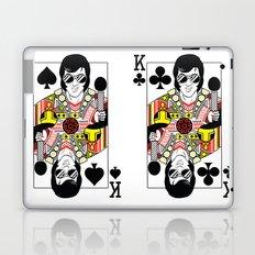 Elvis Presley Playing Card illustration  Laptop & iPad Skin