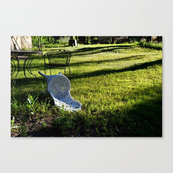 Tipping Point Canvas Print