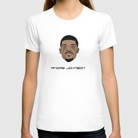 allyson johnson T-shirts featuring Andre Johnson by Λdd1x7