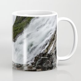 Nugget Falls and the Mendenhall Coffee Mug