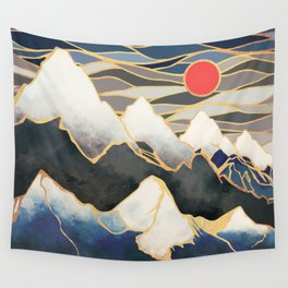 Ice Mountains Wall Tapestry