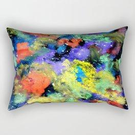 Colorful Chaos Rectangular Pillow